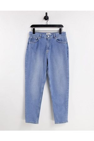 NA-KD Organic cotton mom jeans in light