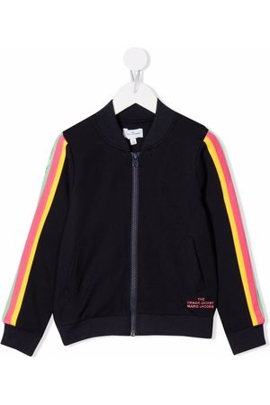 The Marc Jacobs Girls Bomber Jackets - Zip-up striped bomber jacket