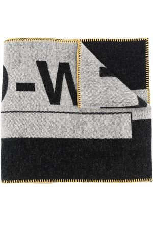 A-cold-wall* Men Scarves - Contrasting logo-print scarf