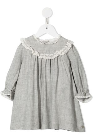Tartine Et Chocolat Baby Casual Dresses - Lace-trimmed cotton dress