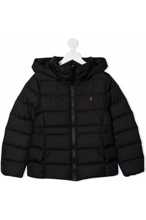 HERNO Girls Jackets - Hooded puffer jacket