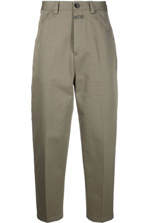 Closed Pressed crease trousers