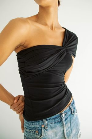 The Line By K The Kyo Tube Top in Black