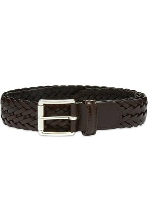 Anderson's Andersons A1097 Braided Leather Belt Dark