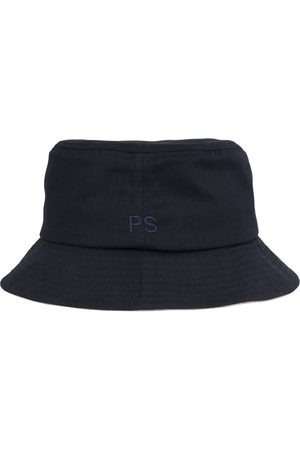 Paul Smith Men Hats - Bucket Hat Embroidered PS Logo Navy
