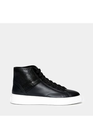 Hogan H366 sneaker in leather with cassette bottom