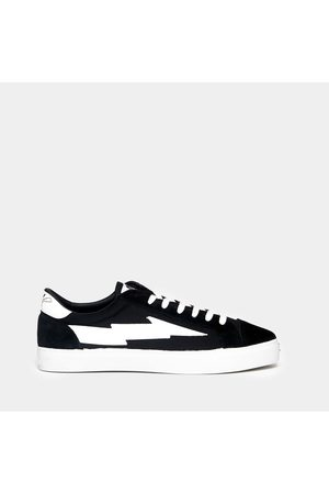 Sanyako Sneaker in cotton and suede with bottom cassette