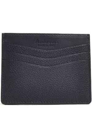 Anderson's Andersons Leather Card Holder Navy