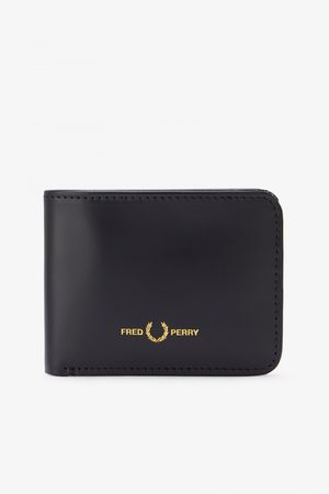Fred Perry Authentics Fred Perry Matt Leather Billfold Wallet