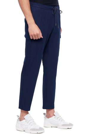 HUGO BOSS Men Cargo Pants - BANKS1 Slim-Fit Cargo Trousers In A Stretch-Cotton Blend 50458472 404