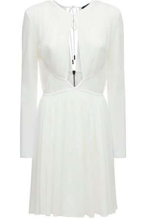 TOM FORD Rouched Crepe Jersey Mini Dress