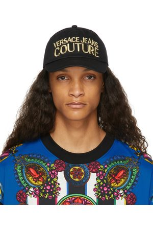 Versace Jeans Couture & Gold Embroidered Logo Cap