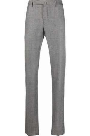 Incotex Checked wool trousers