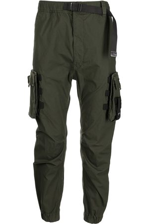 izzue Tapered-leg cargo trousers