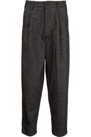 Armani Exchange Pleated high-rise trousers