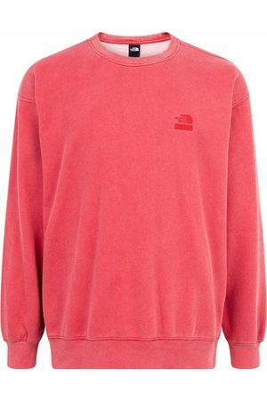 Supreme X The North Face logo embroidered sweatshirt