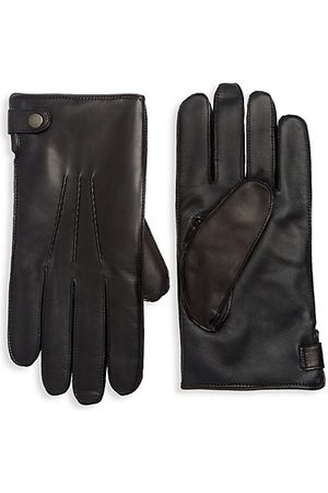 Saks Fifth Avenue COLLECTION Leather Tech Gloves