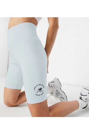 New Balance Life in balance legging shorts in pale - exclusive to ASOS