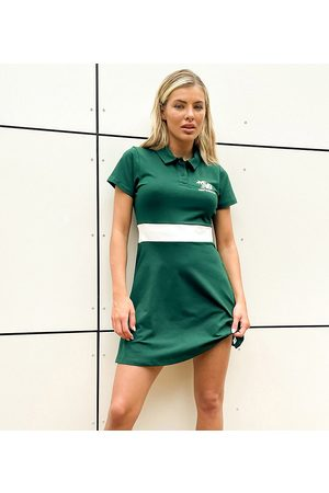 New Balance Palm tree logo tennis dress in - exclusive to ASOS
