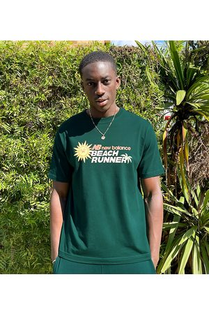 New Balance Beach runner t-shirt in - exclusive to ASOS
