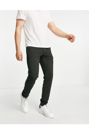 Only & Sons Slim fit jersey trousers in