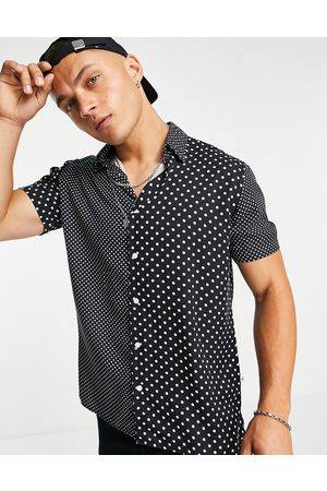 SELECTED Relaxed fit shirt with polka dots in