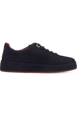 LORO PIANA Leather Lace-up Shoes
