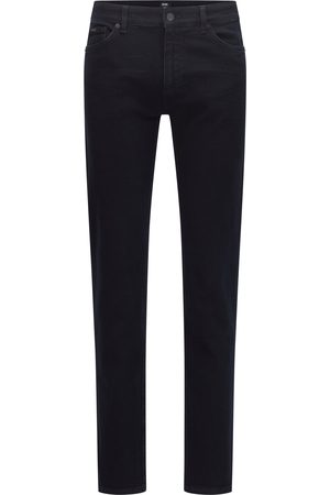 Hugo Boss MAINE3 Regular-Fit Jeans In Navy Cashmere-Touch Denim 50458138 400