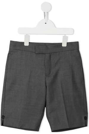 Thom Browne Super 120s twill tailored shorts