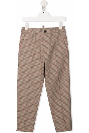 Dsquared2 Check-print tailored trousers