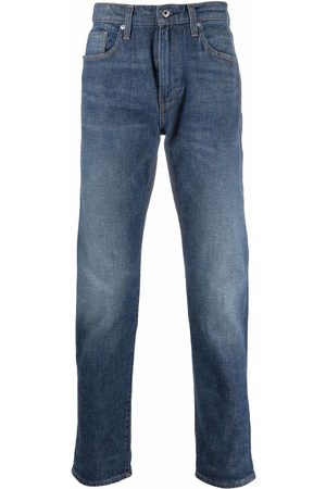 Levi's Mid-rise tapered jeans
