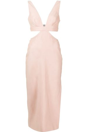 MANNING CARTELL Cut out-detail midi dress