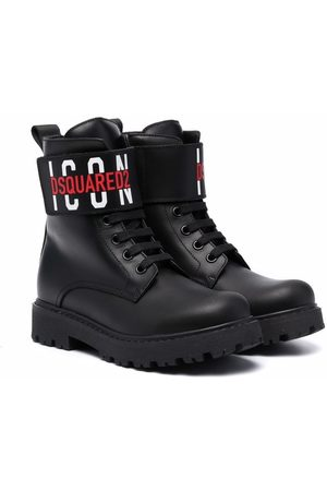 Dsquared2 Kids Boys Ankle Boots - Icon ankle boots