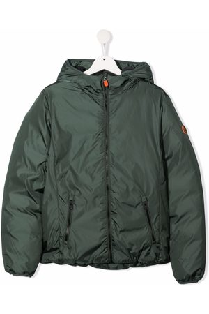 save the duck TEEN hooded down jacket