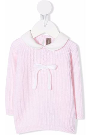 LITTLE BEAR Tops - Bow-detail knitted top