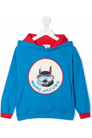 The Marc Jacobs Logo-patch hoodie