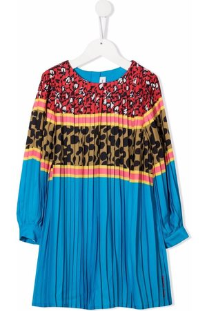 The Marc Jacobs Girls Casual Dresses - Multi-print panelled pleated dress