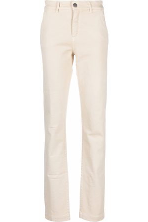 Federica Tosi High-rise slit-detail jeans