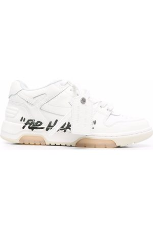 """OFF-WHITE OUT OF OFFICE """"FOR WALKING"""" BLACK"""