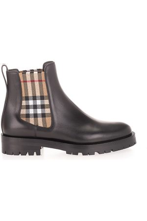 Burberry WOMEN'S 8042363 LEATHER ANKLE BOOTS