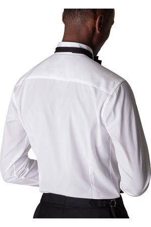 Eton Pliss Wing Collar Dress Shirt in CONTEMPORARY FIT 63153331000