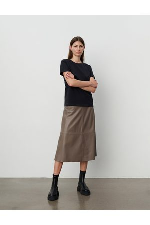2nd Day Marvin Refined Lamb Leather Skirt