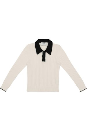 PAADE Wool-blend polo top