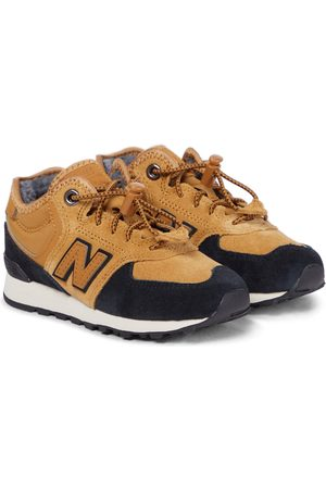 New Balance 574 Core suede sneakers