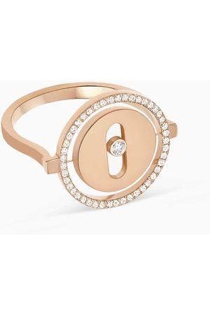 MESSIKA Lucky Move PM Diamond Ring in 18kt Rose