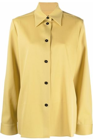Jil Sander Women Blouses - Pointed collar buttoned blouse