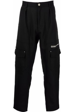 Les Hommes Tapered cargo trousers