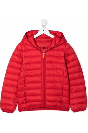 Save The Duck Kids Boys Coats - Zip-up hooded padded coat