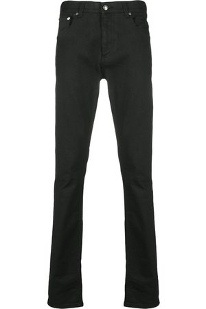 Alexander McQueen Slim Jeans With Studded Logo