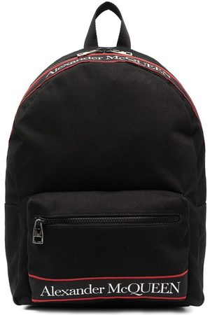 Alexander McQueen Backpack With Printed Logo